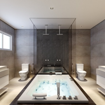 Horizon Residence - Banheiro Suite