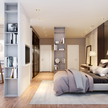 Horizon Residence - Dormitório